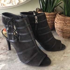 🔥🔥New Ralph Lauren Suede Ankle Booties Size 10